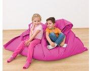 Riesensitzsack pink, 140 x 180 cm, outdoorfähig,  ab 3 Jahre