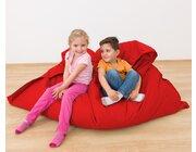 Riesensitzsack rot, 140 x 180 cm, outdoorfähig, ab 3 Jahre