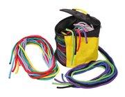 Rundtasche mit 20 Seilen, Klassensatz, ab 5 Jahre