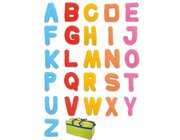 Stoffbuchstaben in Tasche, 26 Stück, ab 3 Jahre