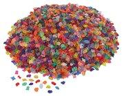 1 kg transparente Mosaiksteine, Kunststoff, ab 3 Jahre