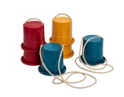treeNside Laufstelzen, 3er-Set, blau - rot - gelb, 3-12 Jahre
