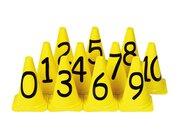 Zahlenkegel, Set mit 11 Stück, ab 6 Jahre