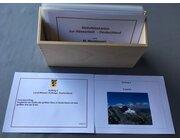 Aktivitätskarten zur Atlasarbeit Deutschland in Holzschachtel, Ma20