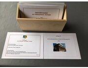 Aktivitätskarten zur Atlasarbeit Europa in Holzschachtel, Ma19
