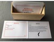 Aktivitätskarten zur Humanbiologie in Holzschachtel, Hbio04