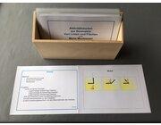 Aktivitätskarten - Von Linien und Flächen, Kartensatz Holzschachtel
