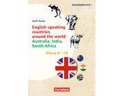English-speaking countries around the world: Australia, India, South Africa (AT), Heft, Klasse 8-10