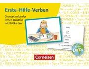 Erste Hilfe-Verben Grundschulkinder, Bildkarten, 1.-4. Klasse