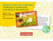 Traditionen, Gesellschaft und Alltag in Deutschland, 72 Karten, 1.-4. Klasse