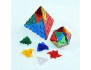 Crystal Polydron Bulk Set, 100 Dreiecke, ab 4 Jahre