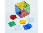 "Crystal Polydron Bulk Set, 40 Quadrate, ab 4 Jahre <span style=""color:red;"">NEU!</span>"