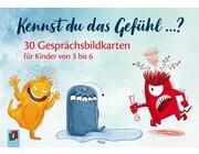 Kennst du das Gefühl ...?, 30 Gesprächsbildkarten, 3-6 Jahre