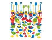 dantoy Sandspielzeug, Sandspiel Sortiment KIGA Packung 84 Teile