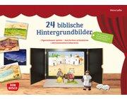 24 biblische Hintergrundbilder, Bildkarten, ab 2 Jahre