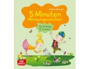 5 Minuten Mitmachgeschichten für Frühling und Sommer, Klebebindung, ab 3 Jahre