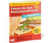 Arbeitsmaterial Grundschule. Fabeln für den Deutschunterricht. Die beiden Frösche, Heft, Klasse 2 bis 5