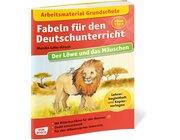 Arbeitsmaterial Grundschule. Fabeln für den Deutschunterricht. Der Löwe und das Mäuschen, Klasse 2 bis 5