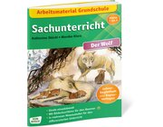 Arbeitsmaterial Grundschule: Sachunterricht - Der Wolf, Lehrerheft, Klasse 1-4