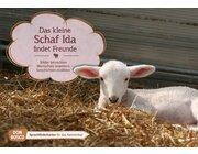 Kamishibai Bildkartenset - Das kleine Schaf Ida findet Freunde, 2-10 Jahre