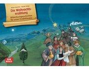 Kamishibai Bildkartenset - Die Weihnachtserzählung, 6-12 Jahre