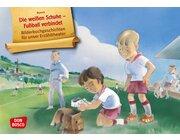 Kamishibai Bildkartenset - Die weißen Schuhe – Fußball verbindet, 5-10 Jahre