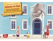 Elefanten im Haus, Kamishibai Bildkartenset, 3-8 Jahre