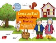 Emma und Paul erleben den Herbst. Spielfiguren für die Erzählschiene, Heft, 1 bis 5 Jahre