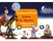 Emma und Paul feiern St. Martin. Spielfiguren für die Erzählschiene, Heft, 1 bis 5 Jahre