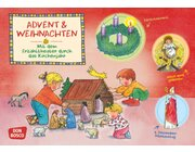 Kamishibai Bildkartenset - Advent und Weihnachten, 2 bis 6 Jahre