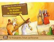 Kamishibai Bildkartenset - Der Kreuzweg für Kinder in 15 Stationen, 3 bis 8 Jahre