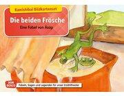 Kamishibai Bildkartenset - Die beiden Frösche, 5 bis 11 Jahre