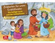 Kamishibai Bildkartenset - Die heilige Lucia und der Lichterkranz, 3 bis 10 Jahre