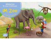 Kamishibai Bildkartenset - Im Zoo mit Emma und Paul, 1 bis 5 Jahre