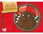 Kamishibai Bildkartenset - Mama, da steht ein Bär vor der Tür, 4-8 Jahre
