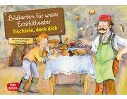 Kamishibai Bildkartenset - Tischlein, deck dich, 3-8 Jahre