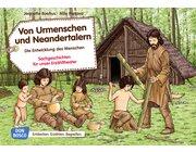 Kamishibai Bildkartenset - Von Urmenschen und Neandertalern, 3-8 Jahre