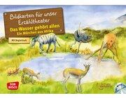 Das Wasser gehört allen. Ein Märchen aus Afrika, Kamishibai Bildkartenset inkl. CD, 4-10 Jahre