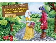 Kamishibai Bildkartenset - Elisabeth von Thüringen und das Rosenwunder, 5-10 Jahre