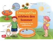 Emma und Paul erleben den Sommer. Spielfiguren für die Erzählschiene, 1-5 Jahre
