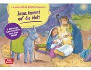 Kamishibai Bildkartenset - Jesus kommt auf die Welt, ab 2 Jahre
