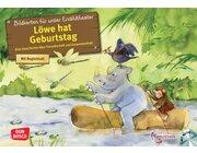 Kamishibai Bildkartenset - Löwe hat Geburtstag, 4-10 Jahre