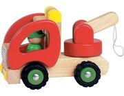Abschleppwagen, Holzspielzeug, ab 2 Jahre