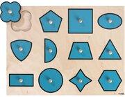 Einlegebrett Geometrische Formen, ab 18 Monate