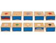 Fußtastkästen Komplett-Set, ab 3 Jahre