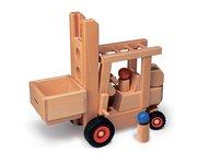 Fagus Gabelstapler, Holzspielzeug, ab 3 Jahre