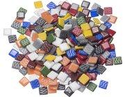 Glasmosaiksteine, 10 Farben gemischt