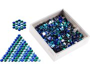 Juwelensteine klein Set, ca. 1100 Stück Ø 18 mm