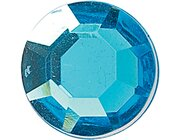 Juwelensteine Aquamarinblau 25 Stück, ab 2 Jahre