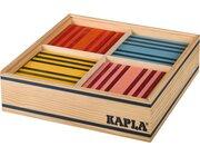 KAPLA Bauhölzer bunt, 100 Stück in Holzbox